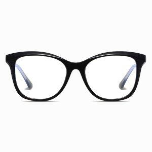black square eyeglasses for women men