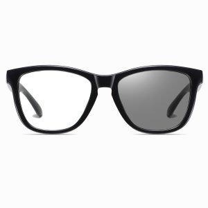 black square eyeglasses for women