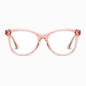 pink square eyeglasses for women girls