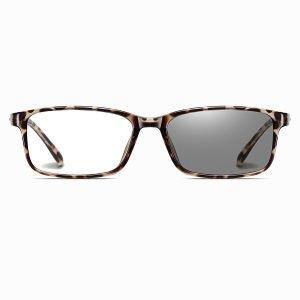 men rectangle eyeglasses