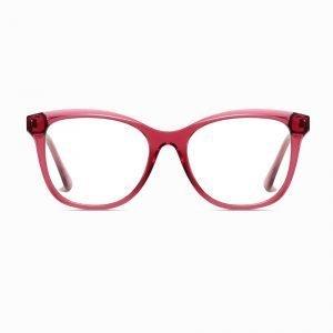 purple square eyeglasses for women girls