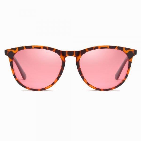 Thin Circular Frame Sunshade for Women Girls