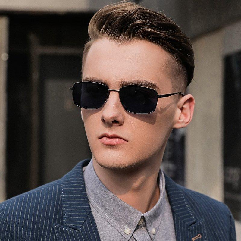 men sunglasses model