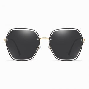 Black square sunglasses for women, fashion shade for girls