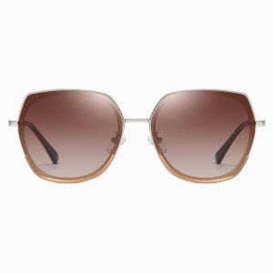 Claret Red Square Sunnies