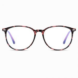 Round eyeglasses for Women with Blue Light Blocker Lenses