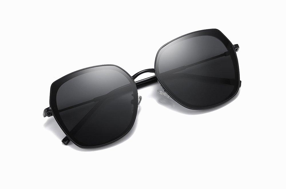 stylish black square sunglasses for women
