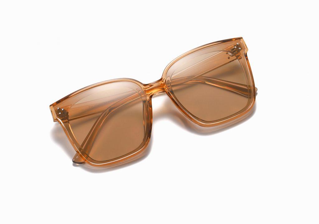 light brown square sunglasses for women girls