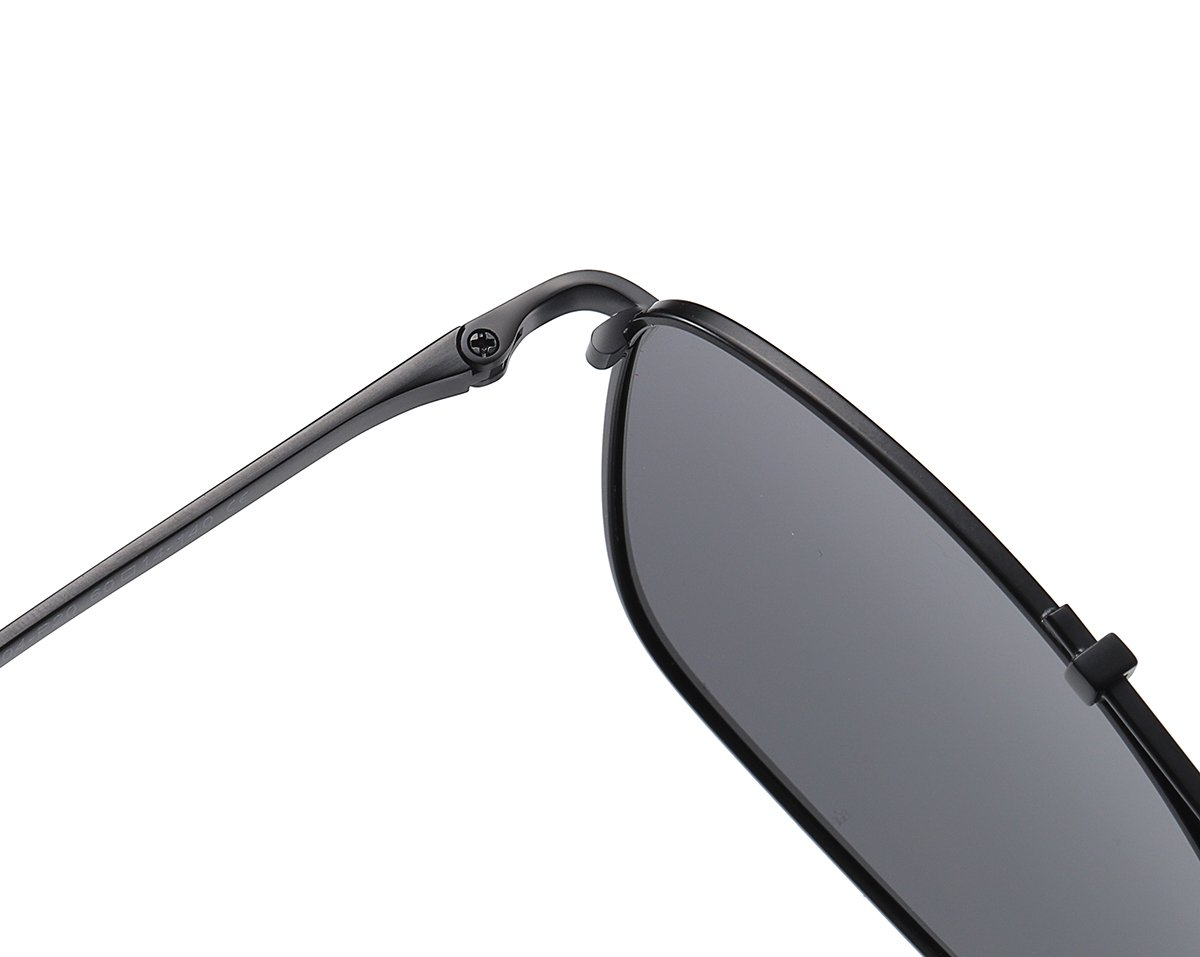 strong build spring hinges with black frames