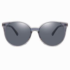 Gray Round sunglasses for women block sunshine summer