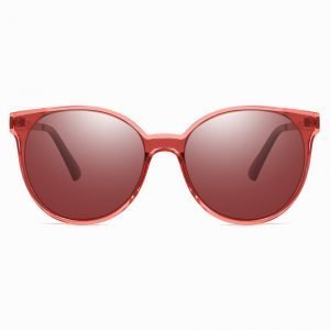 fashionable red sunglasses for girls