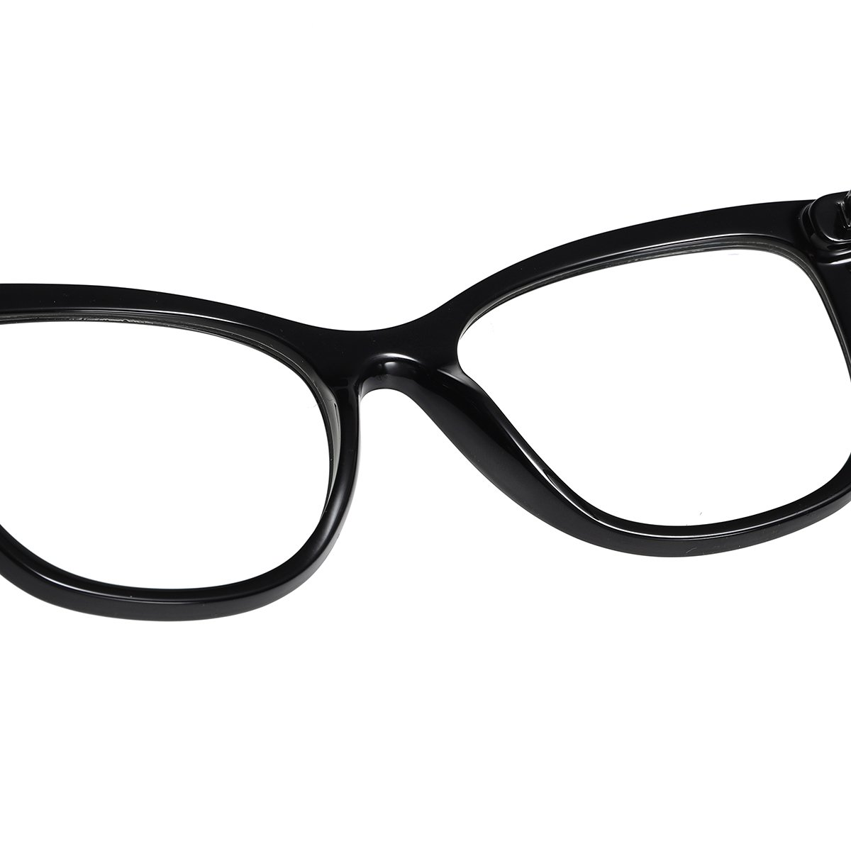 black frames with comfort nose pad