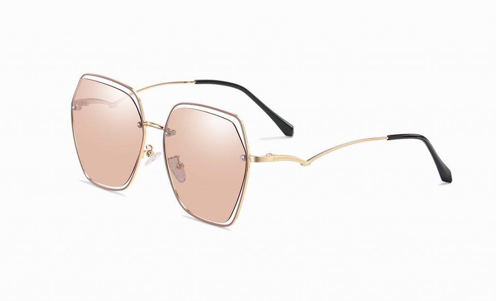 light tea brown sunglasses for women