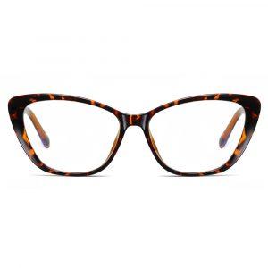 cat eye tortoise frame eyeglasses