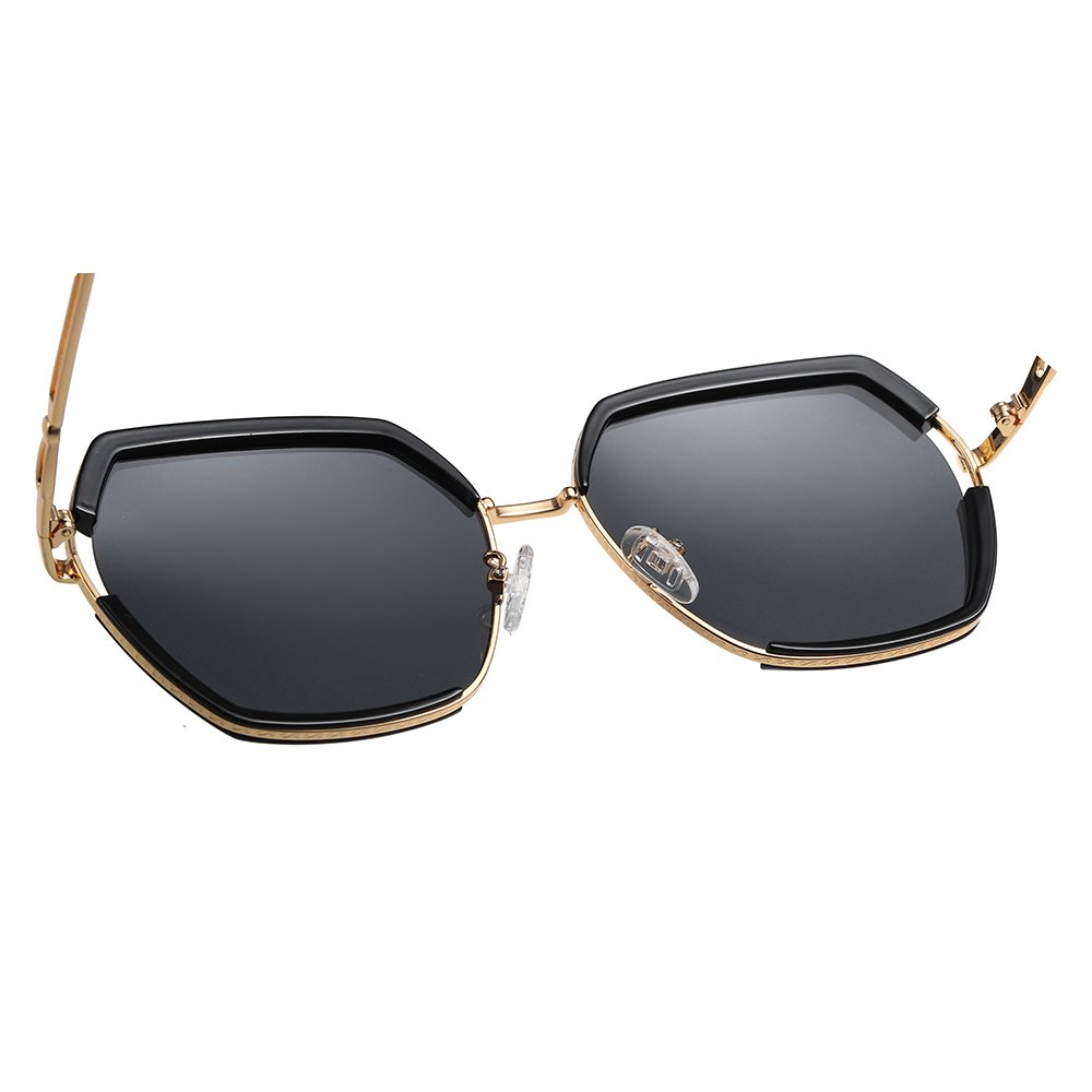 square sunglasses with adjustable nose pad