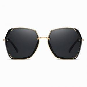 Black Gold Square Sunglasses