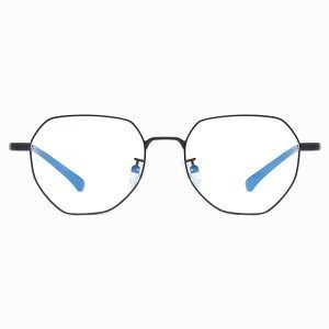 round black frame eyeglasses for women