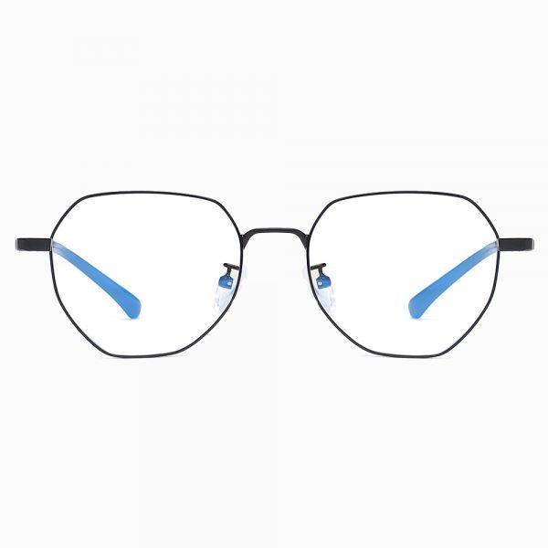 round black frame eyeglasses for women