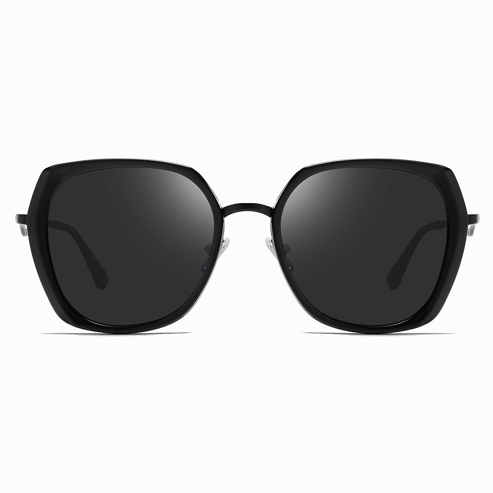 black square sunglasses for women