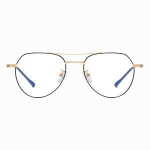 round eyeglasses black frames