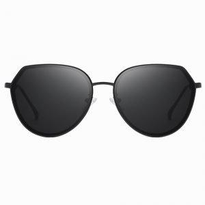 Black Round Sunglasses for Women