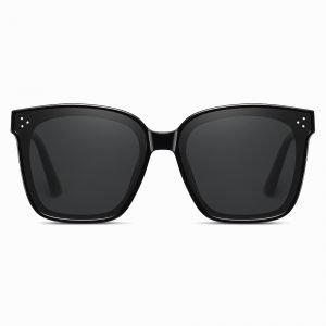 Black Square Sunglasses for Women Men