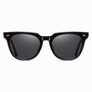 Black Square Sunglasses for Men Women