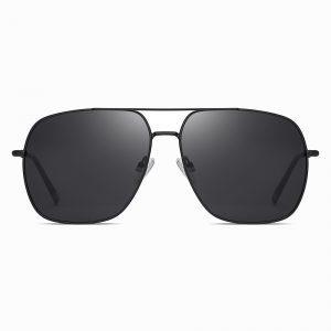 Black Square Sunglasses for Men