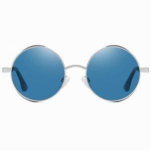 Hippie Lennon Round Blue Shade Sunnies