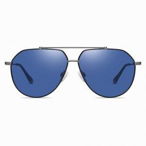 Blue Double Bridge Sunshade for men