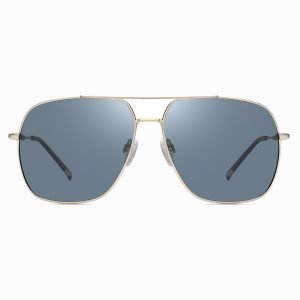Blue Square Double bridge Aviator Sunglasses