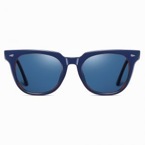 blue square sunglasses for men women