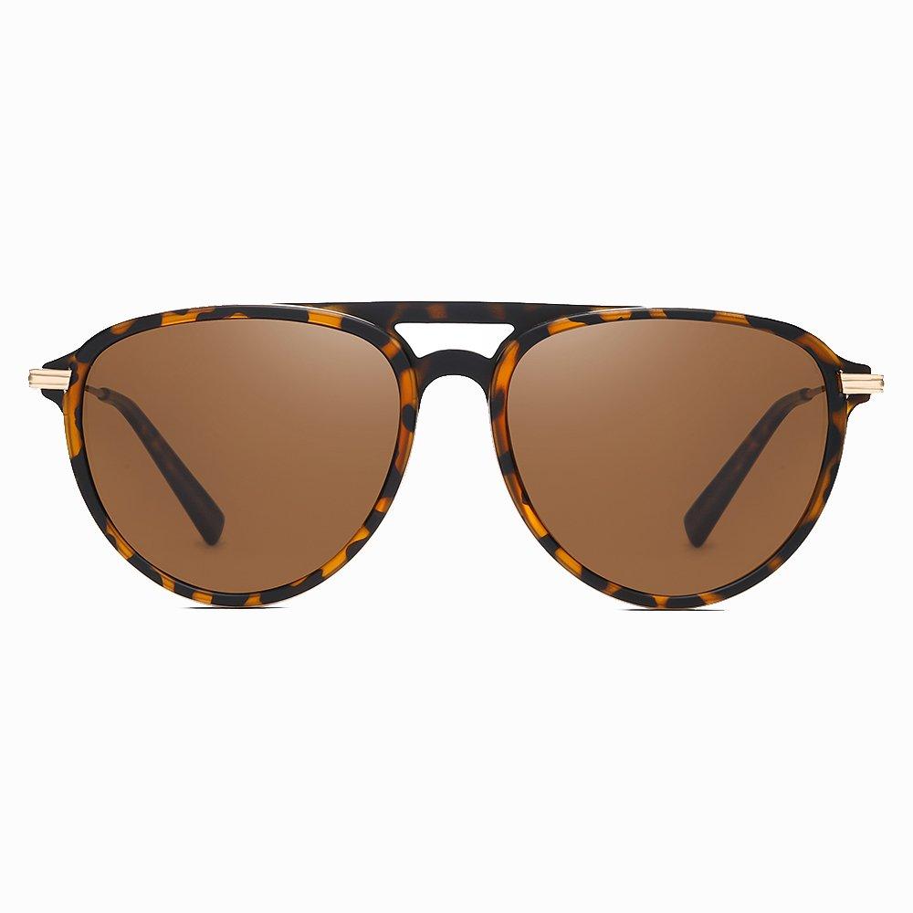 Tortoise Frame Round Sunglasses