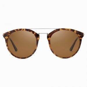 Tortoise Brown Lenses Tortoise Frame Sunshade for Women