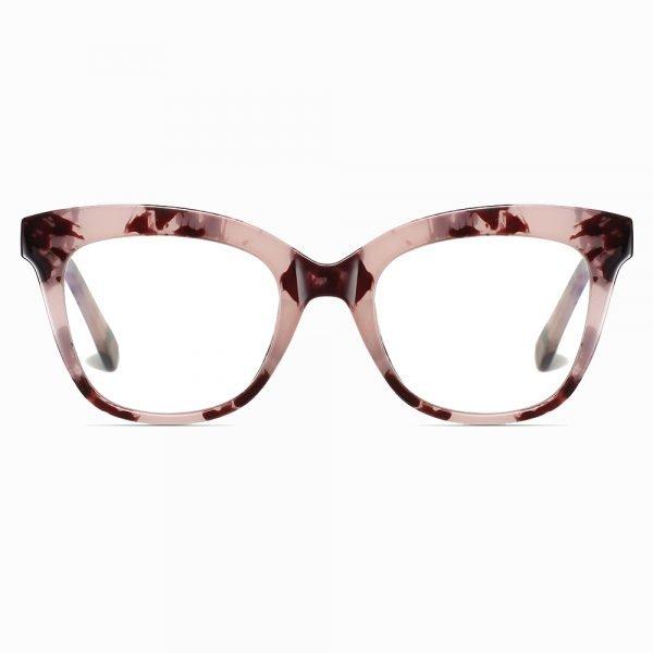 brown tortoise square eyeglasses