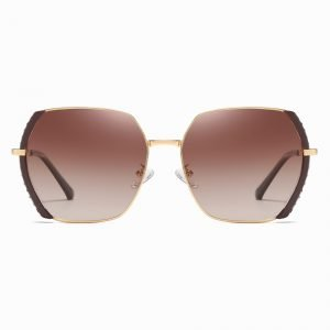 Claret Red Square Sunglasses for Women