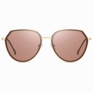 Brown Round Sunglasses