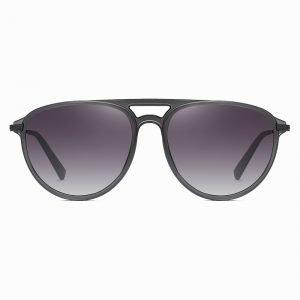Grey Gradient Sunshade for Men Women