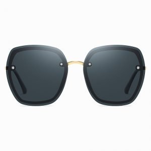 Deep Blue Square Sunnies for Women