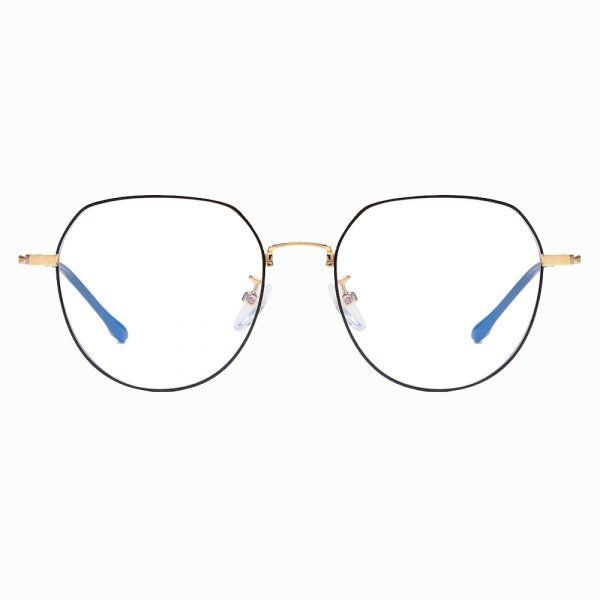 Black Round eyeglasses for women girls