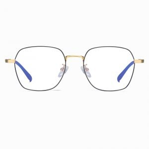 black square eyeglasses for women men