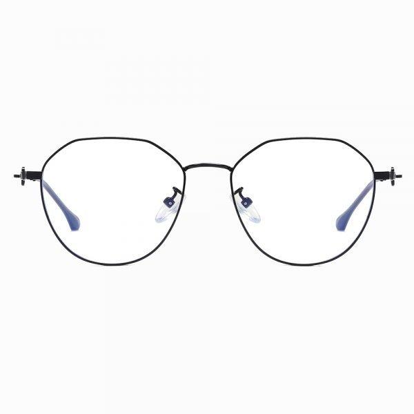 black round eyeglasses for women