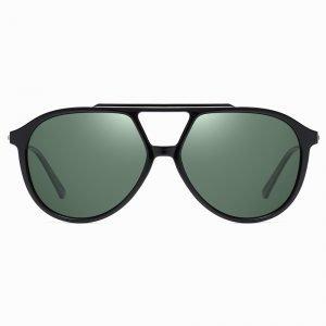 Green G15 Round Big Sunshade Men Sunnies This Summer