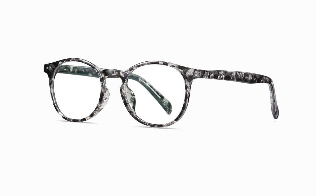 round grey tortoise eyeglasses for women girls