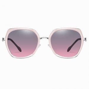 Purple Gradient Pink Square Sunglasses