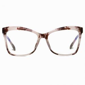Tortoise Square Cat Eye Glasses
