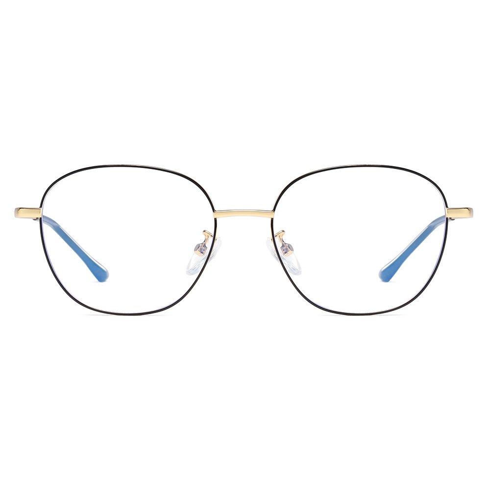 hipster square wire frame eyeglasses