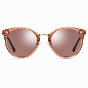 Jam Red Round Sunglasses for Women