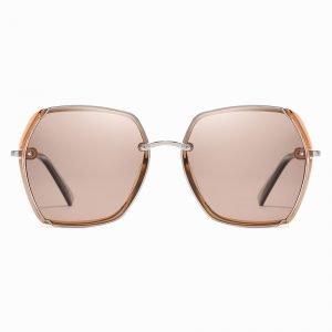 Brown Square Sunglasses for Women