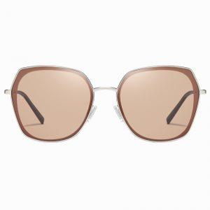 Brown Square Sunglasses